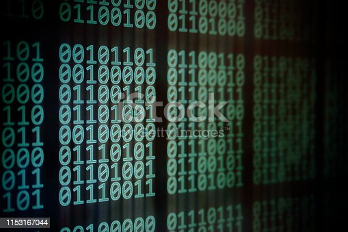 istock Blockchain, password, personal information, privacy and data transfer concepts. 1153167044