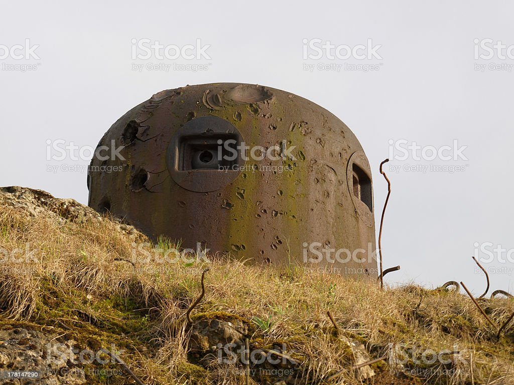 blockhouse stock photo