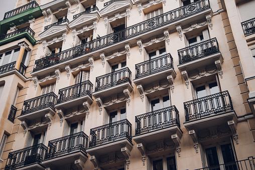 Blocks of apartments in Madrid