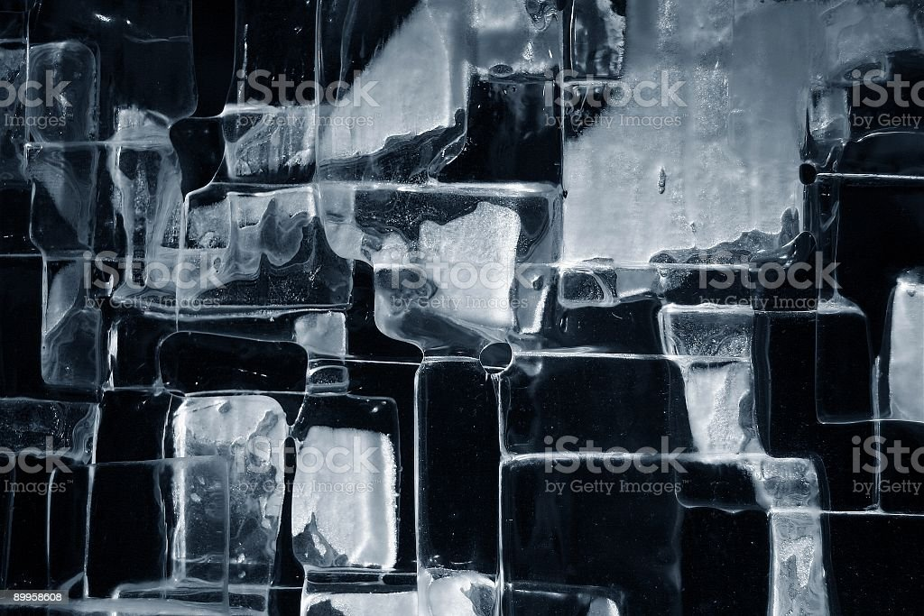 Blocks of Ice background royalty-free stock photo
