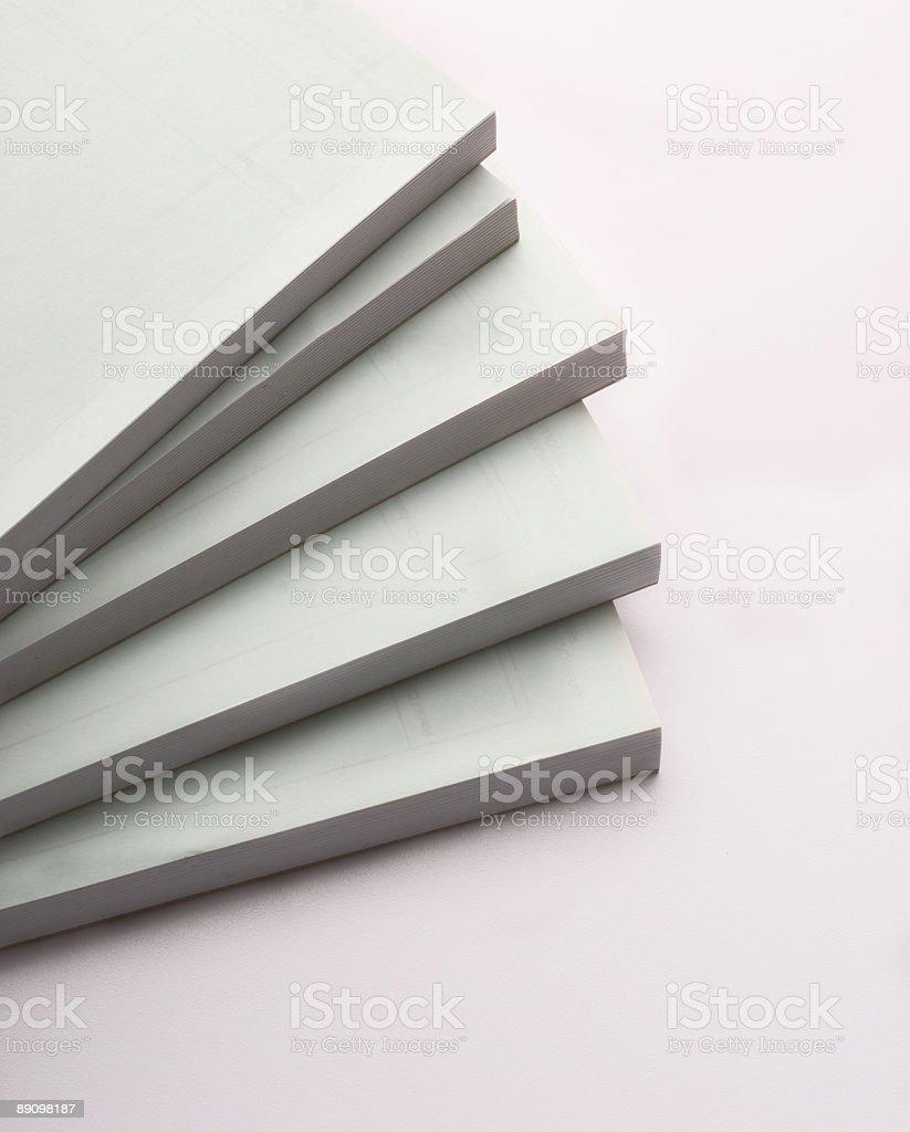 Blocks von Zeitungen Lizenzfreies stock-foto
