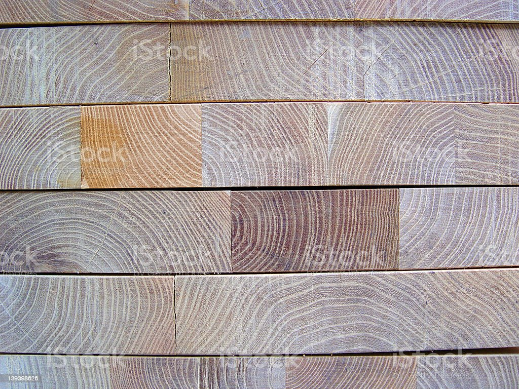 Blocks of Wood stock photo