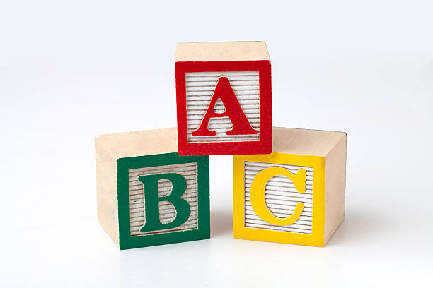 abc blocks - alphabetical order stock pictures, royalty-free photos & images