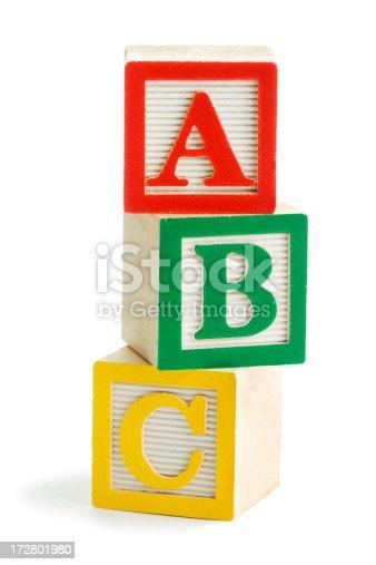 istock ABC Blocks 172801980