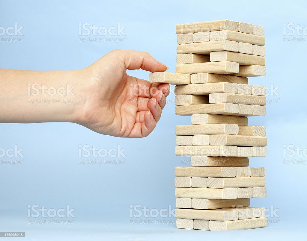 Blocks royalty-free stock photo