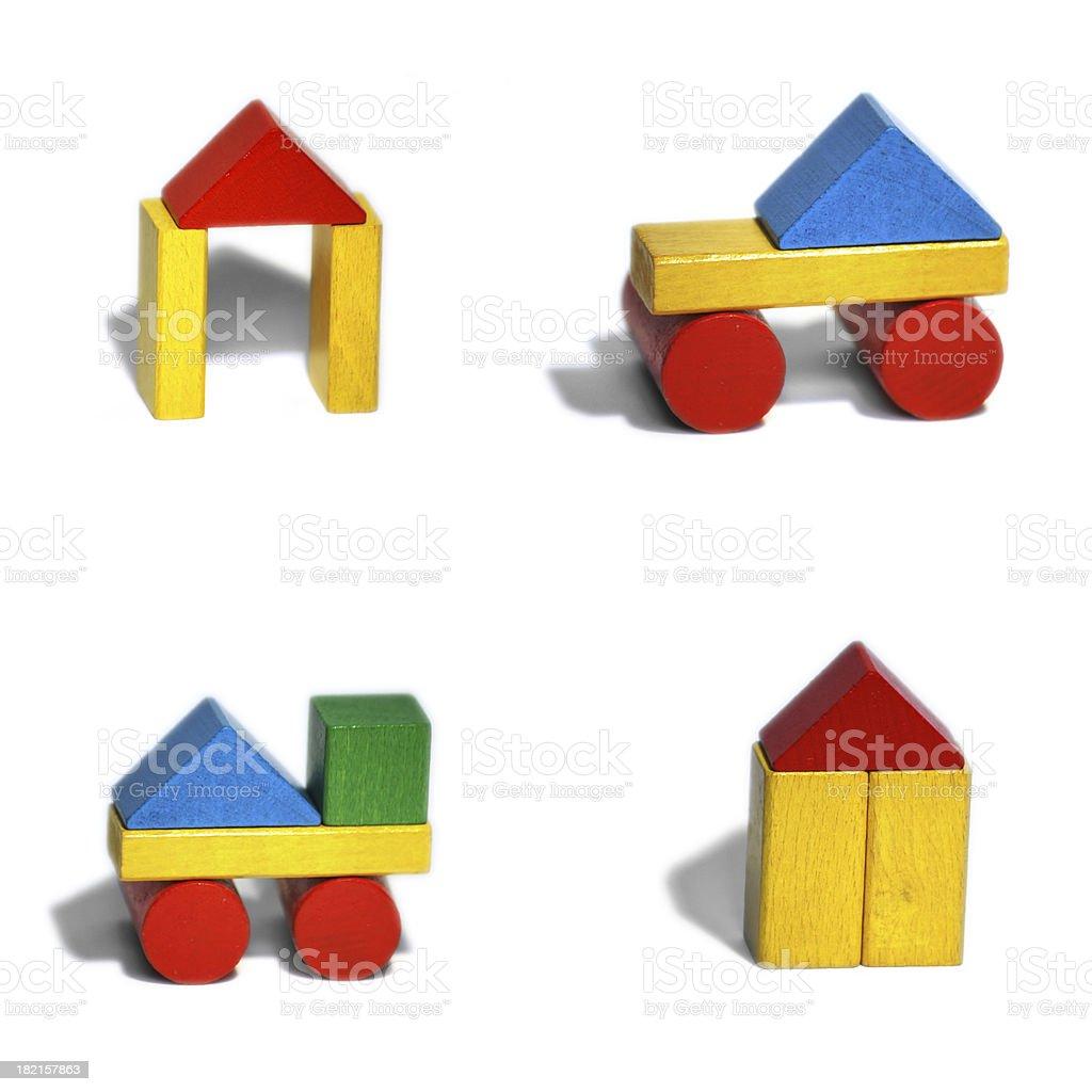 blocks toy set royalty-free stock photo