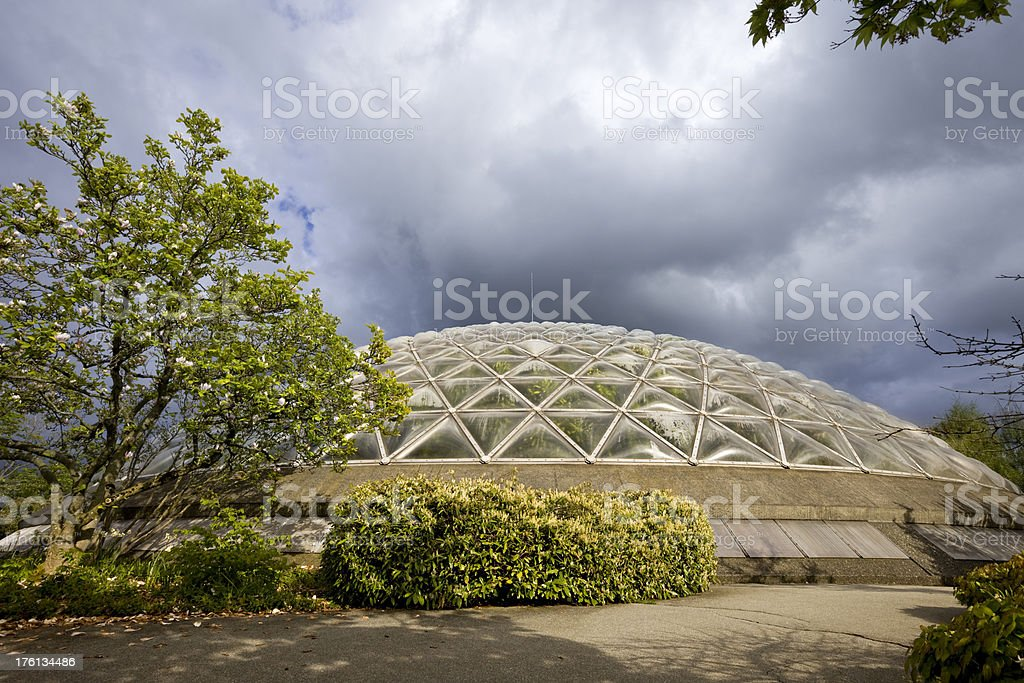 Bloedel Floral Conservatory Vancouver royalty-free stock photo