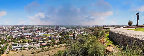 Bloemfontein city panorama stock photo