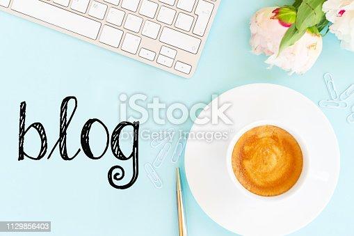 509867718istockphoto blog concepts ideas 1129856403