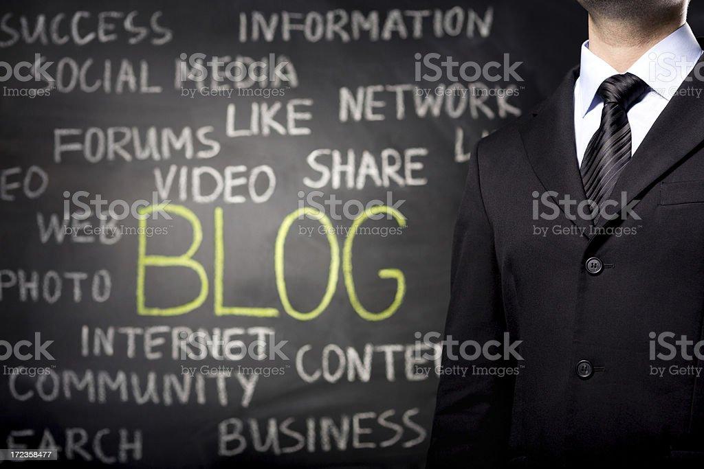 Blog - Lizenzfrei Anzug Stock-Foto
