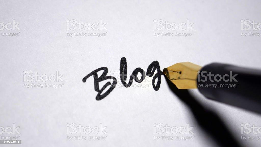 Blog  – Foto