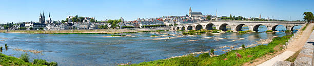Blois in Loire Valley, France stock photo