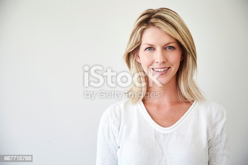 673361134 istock photo Blond and blue eyed 667715768