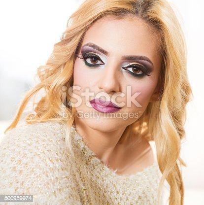483075616 istock photo Blond fashion woman portrait 500959974