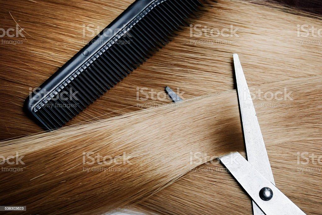 Cabelo loiro - foto de acervo