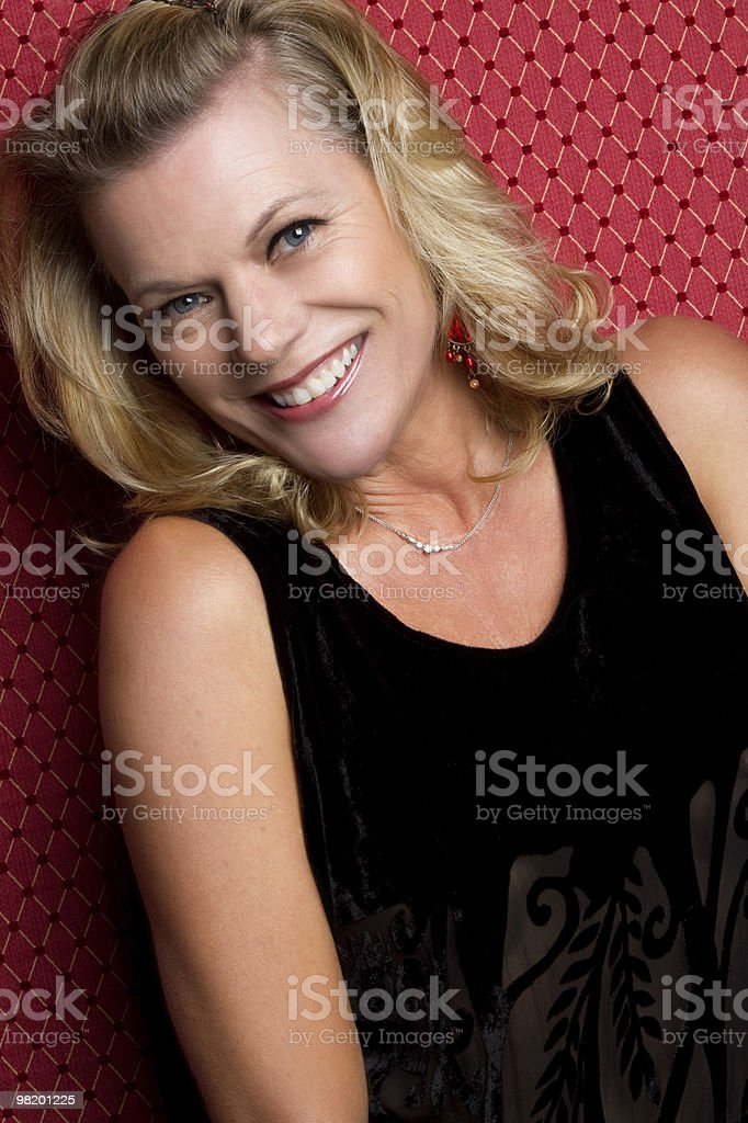 Blond Model royalty-free stock photo