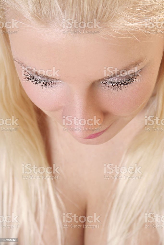blond royalty-free stock photo