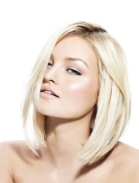 Blonden Frau – Foto