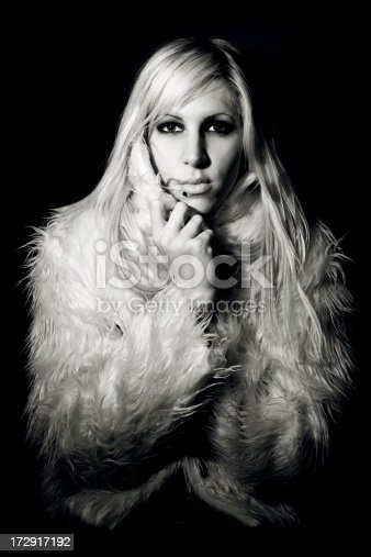 istock Blonde and fur 172917192