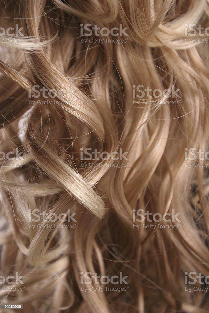 Blonde background royalty-free stock photo