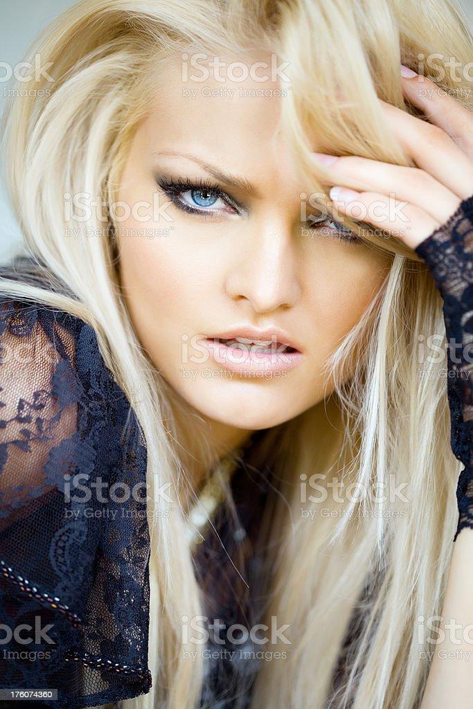 Blonde Beauty royalty-free stock photo