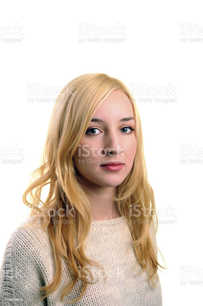 Blonde Dreams royalty-free stock photo