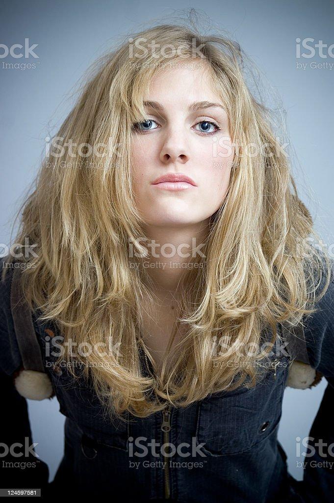 Blonde Girl stock photo