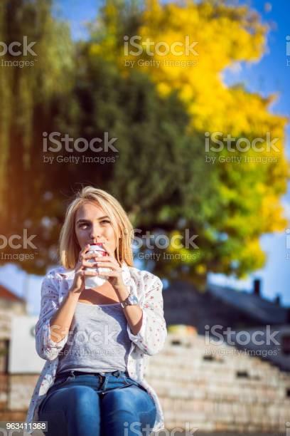 Blondynka Siedząca Na Płaskowyżu - zdjęcia stockowe i więcej obrazów 20-29 lat