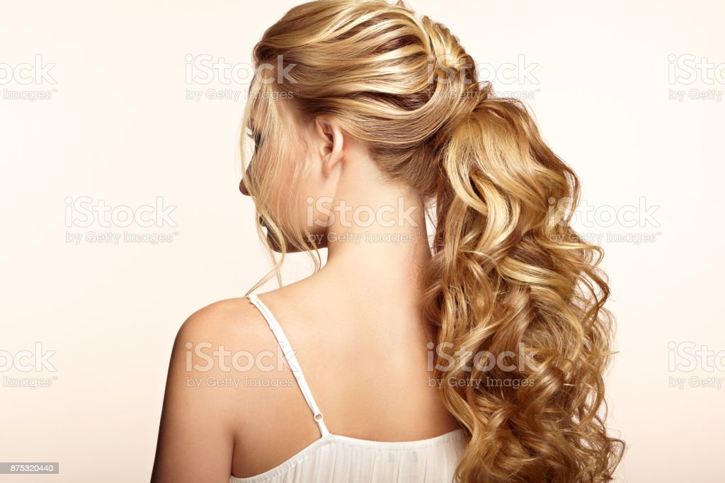 Royalty Free Wavy Hair Back Pictures Images And Stock Photos Istock