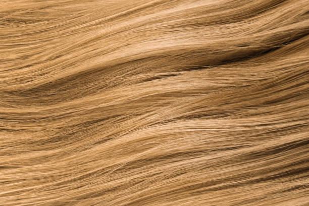 Mit haare strähnen blond braunen Grau Strähnen