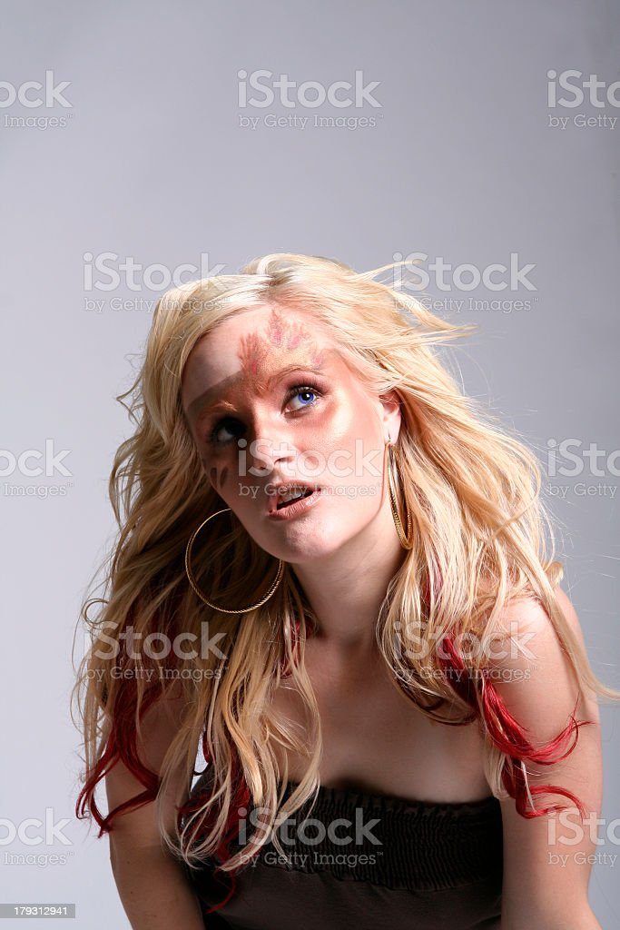 Blonde royalty-free stock photo