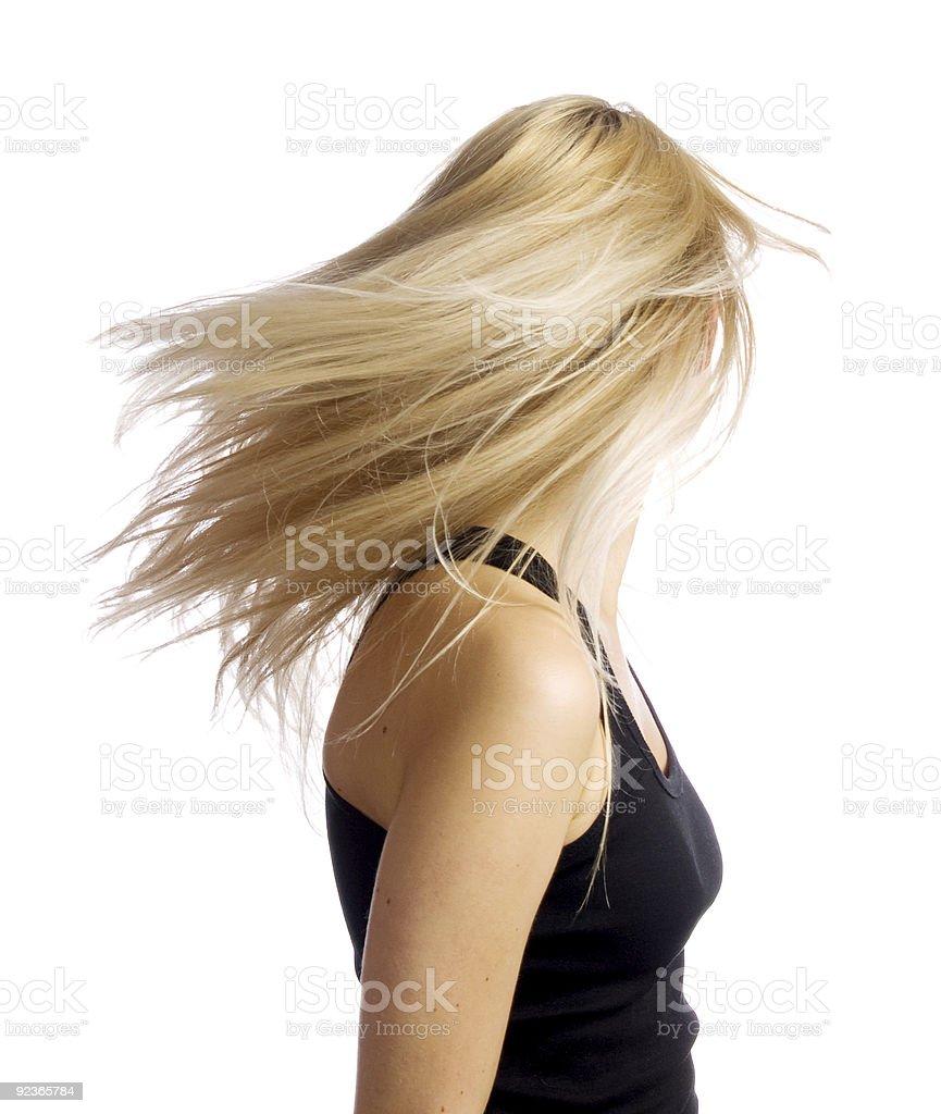 Blonde Lizenzfreies stock-foto
