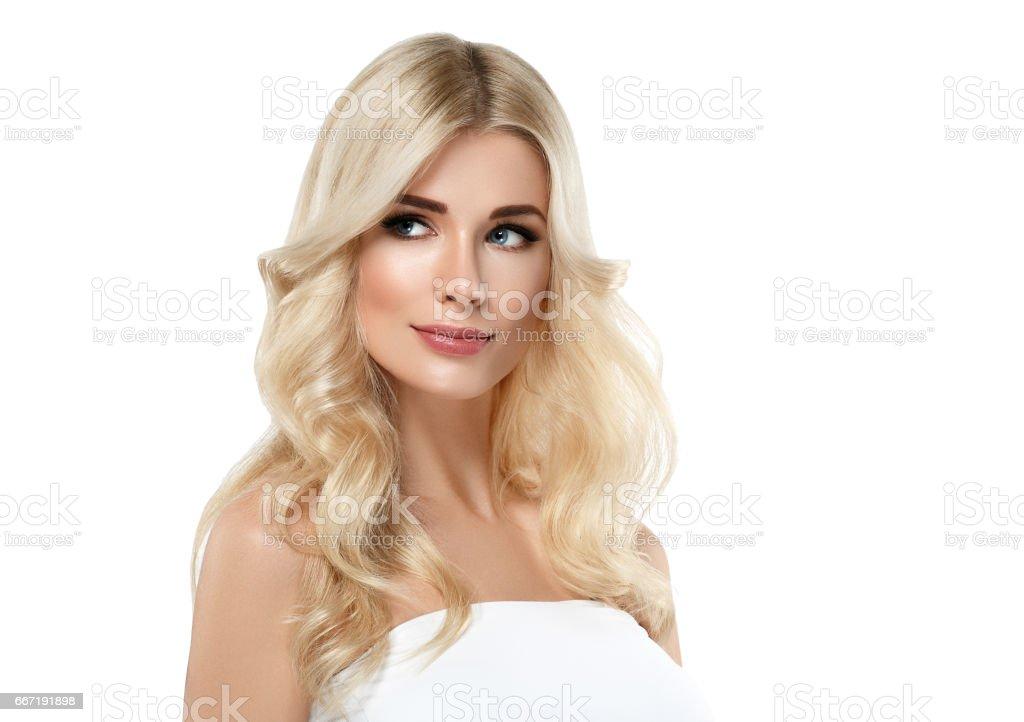 Beautiful platinum blonde teen models