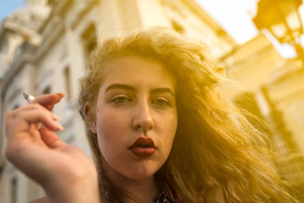 Young blonde lesbos, mature nerd girl porn