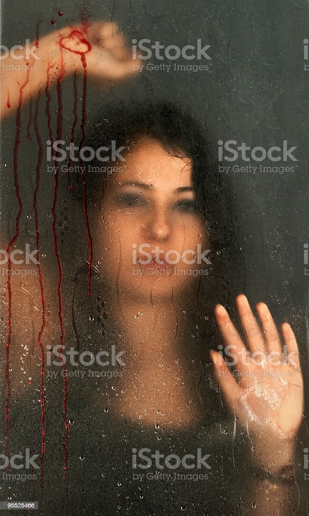blood and love stock photo