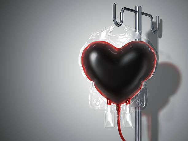blood bag heart. donate concept - blood donation stock pictures, royalty-free photos & images