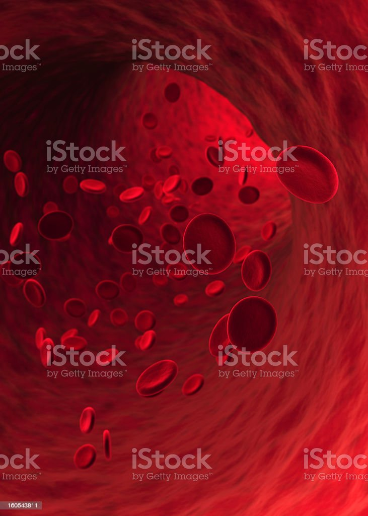 Blood Cells (XXXL) stock photo