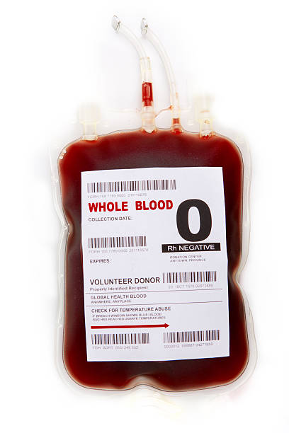 Blood donor stock photo