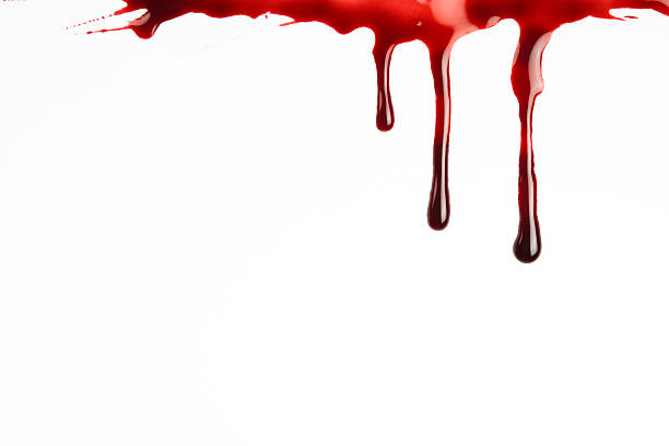 blood dripping - vlek stockfoto's en -beelden