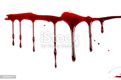 Blood Dripping Stock Photo & More Pictures of Blood | iStock