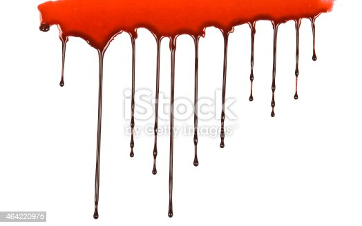172646637 istock photo Blood Dripping 464220975