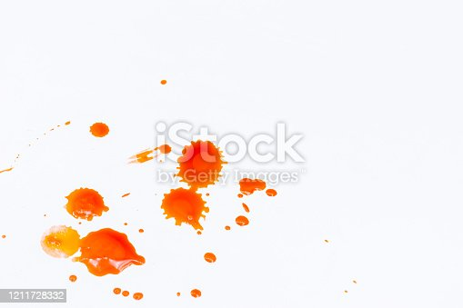 535193210 istock photo Blood dripping set stains 1211728332