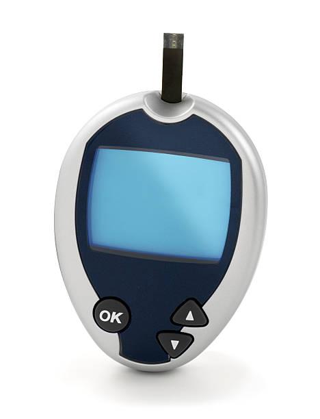blut glucose meter - godfriededelman stock-fotos und bilder