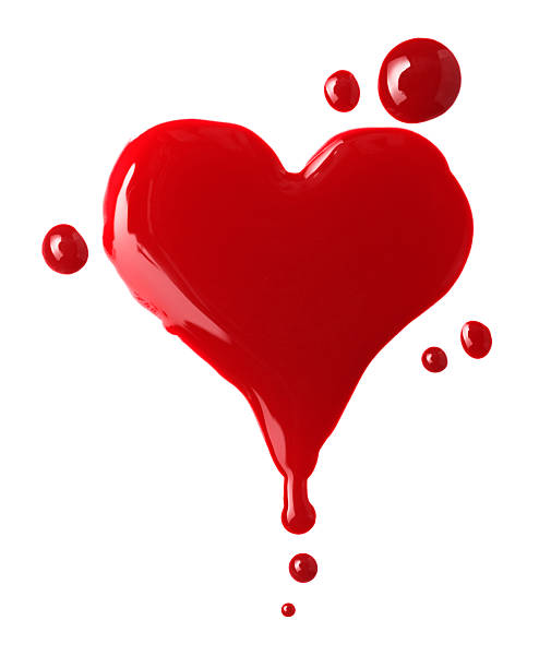 Top 60 Bloody Heart Stock Photos, Pictures, and Images