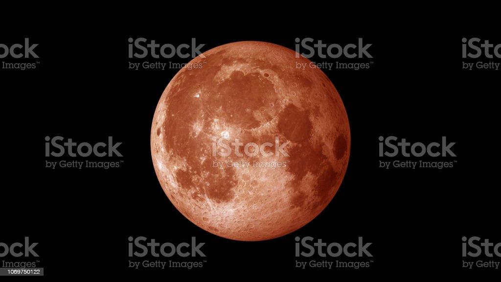 Blut-Mond am Himmel – Foto