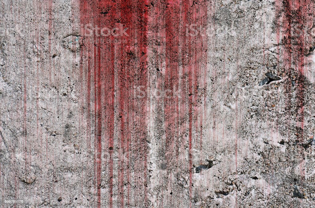 Blood on wall stock photo