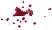 istock Blood on white 960149000
