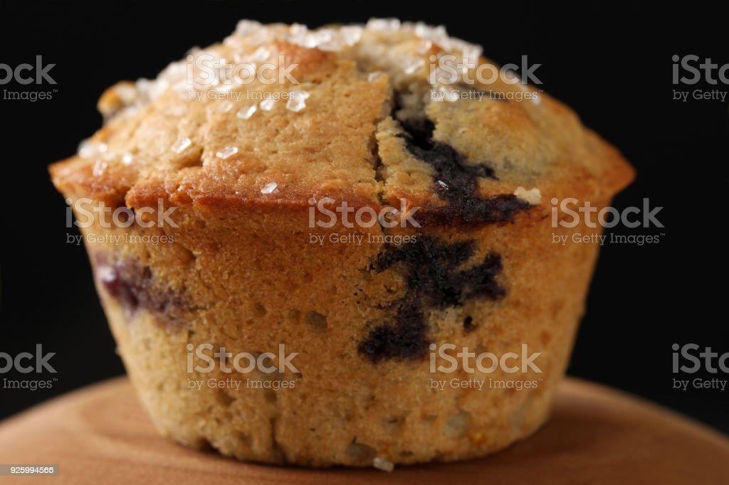 Blood Orange Blueberry Muffins stock photo