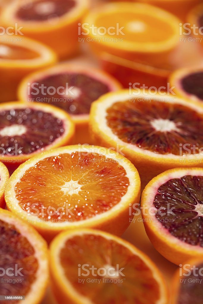 Blood oranges royalty-free stock photo