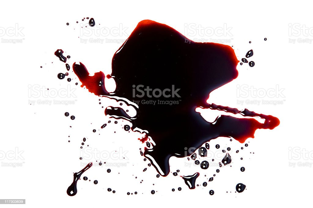 Blood Pool stock photo